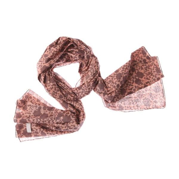 Šátek Hanging Brown, 200x100 cm