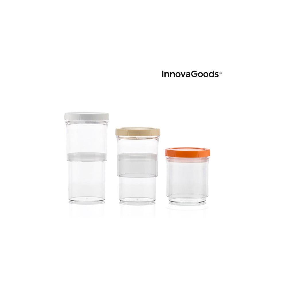 Nastavitelné nádoby InnovaGoods, 3 kusy
