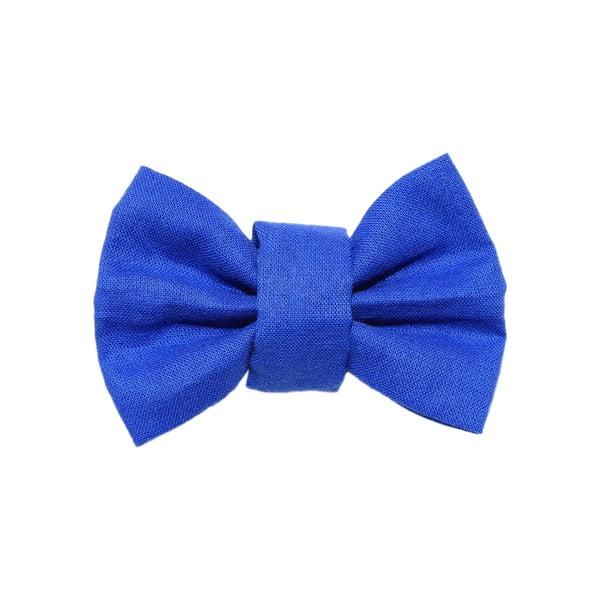 Modrý charitativní psí motýlek Funky Dog Bow Ties, vel. M