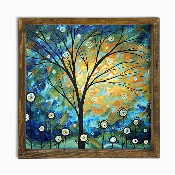 Nástenný obraz Autumn Vibe, 34 × 34 cm