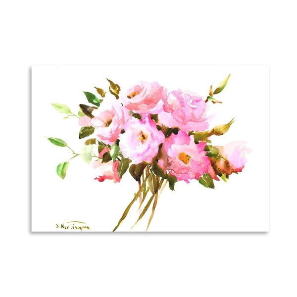 Plakát Roses in Pink od Suren Nersisyan