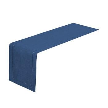 Napron Unimasa, 150 x 41 cm, albastru închis imagine