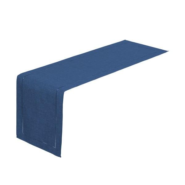 Sötétkék asztali futó, 150 x 41 cm - Unimasa