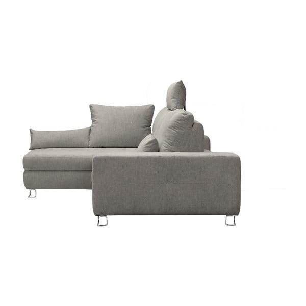 Béžová rohová rozkládací pohovka Windsor & Co Sofas, levý roh Alpha