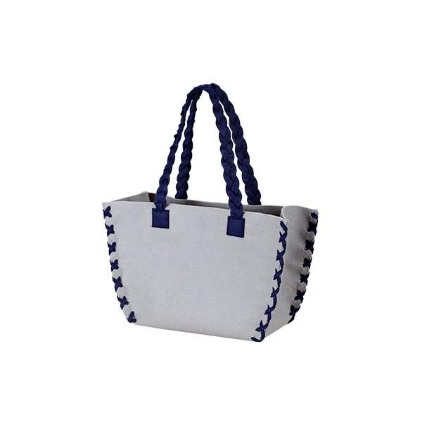 Menší plstěná taška, antracit