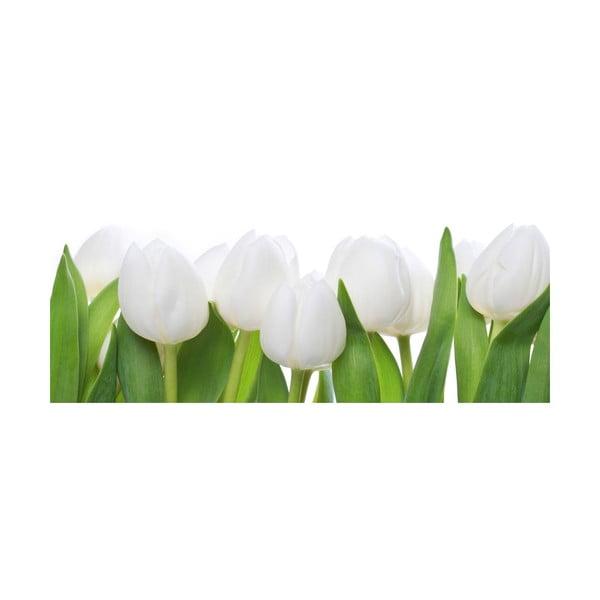 Skleněný obraz Tulip Parade 30x80 cm