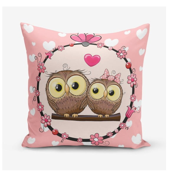 Obliečky na vaknúš s prímesou bavlny Minimalist Cushion Covers Fall in Love, 45 × 45 cm