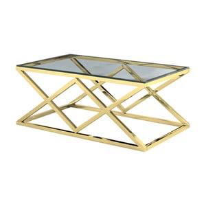 Konferenční stolek ve zlaté barvě Artelore Vaniir