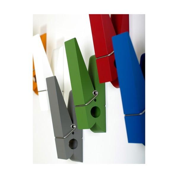 Zelený kolík na zavěšení šatních doplňků SwabDesign