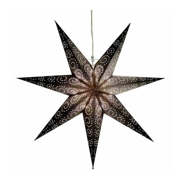 Závěsná svítící hvězda Antique Silver, 60 cm