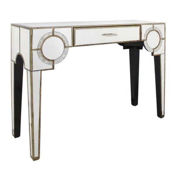 Stůl se zásuvkou CIMC Gatsby Antique Mirror