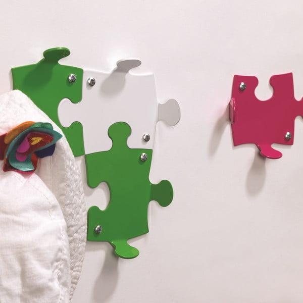 Černé háčky Puzzle, 2 ks