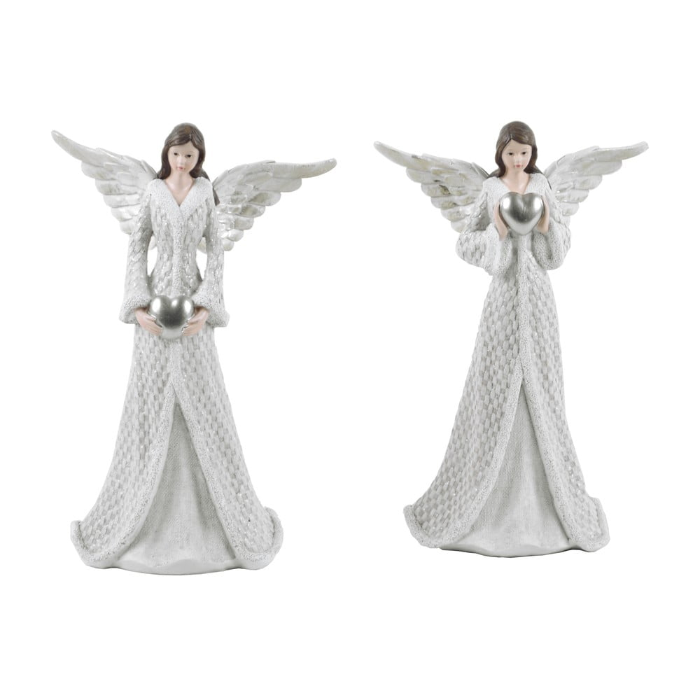 Sada 2 dekorativních andělů Ego Dekor Diana, výška17,5cm