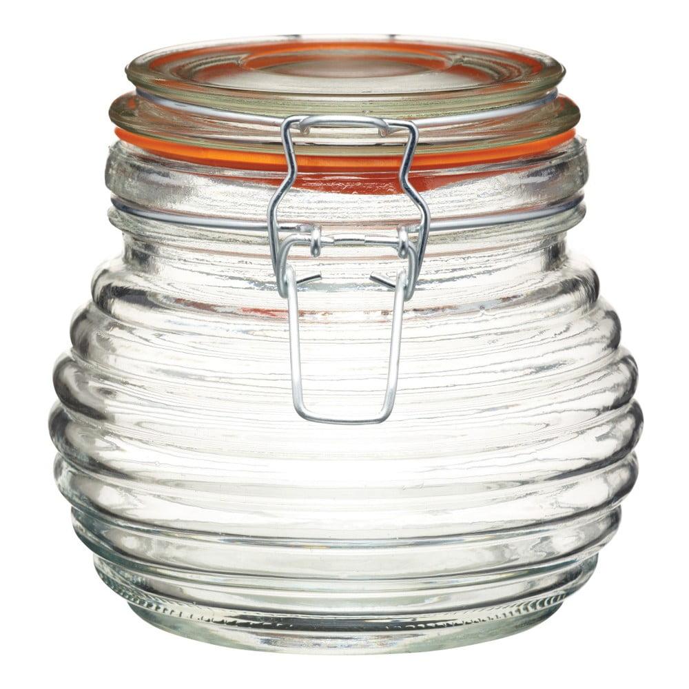 Skleněná dóza na med Kitchen Craft Home Made, 650 ml