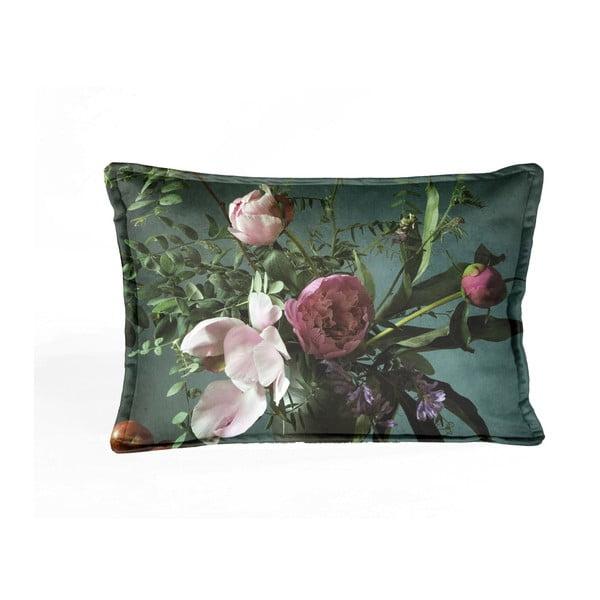Barevný dekorativní povlak na polštář Velvet Atelier Botanical, 50 x 35 cm