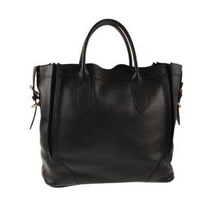 Černá kožená kabelka Ore Diece Arlon