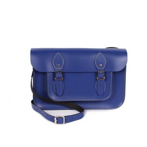 "Kabelka Satchel 11"", Electric Blue"