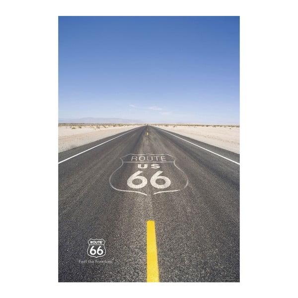 Tapeta na dveře Route 66