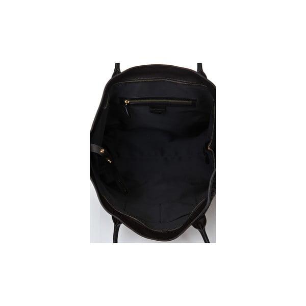 Kožená kabelka Giorgio Costa 9910 Black