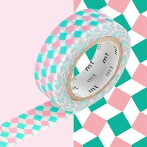 Bandă decorativă Washi MT Masking Tape Emma, rolă 10 m