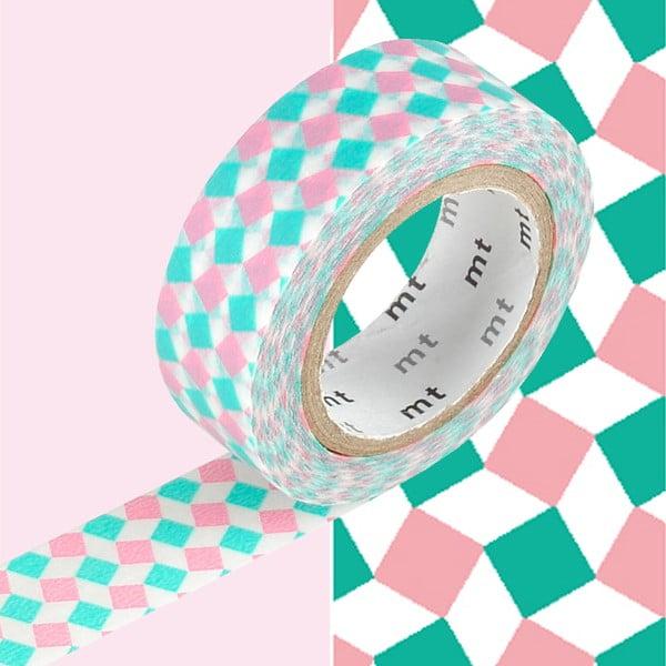 Bandă decorativă washi MT Masking Tape Emma, rolă 10 m