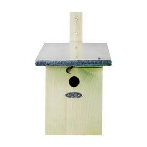 Budka pro ptáčky z borovicového dřeva Esschert Design, 21,5 x 33,3 cm