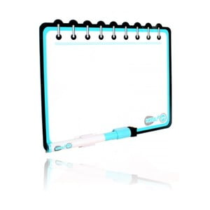 Samodržící tabule Notepad Blue Curacao
