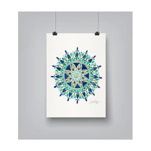 Poster Americanflat Mandala, 30 x 42 cm