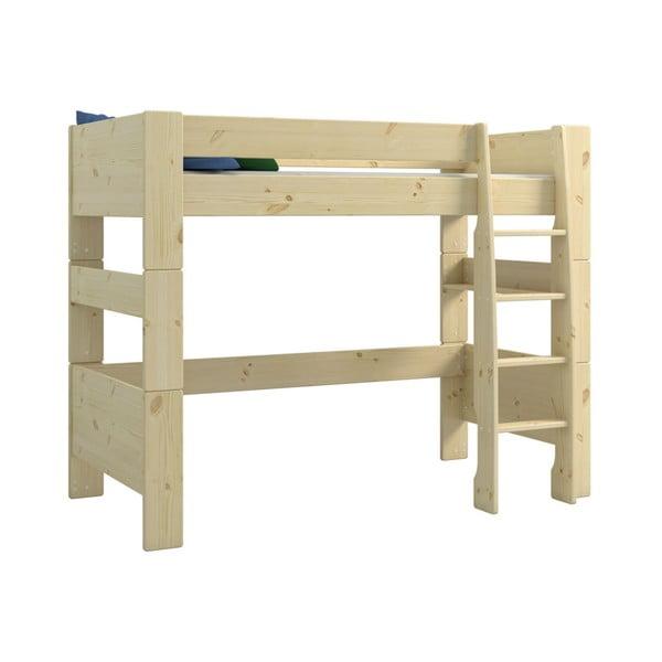 Dětská patrová postel z borovicového dřeva Steens For Kids, výška 164cm
