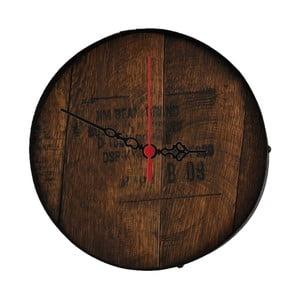Nástěnné hodiny Jim Beam, 30 cm