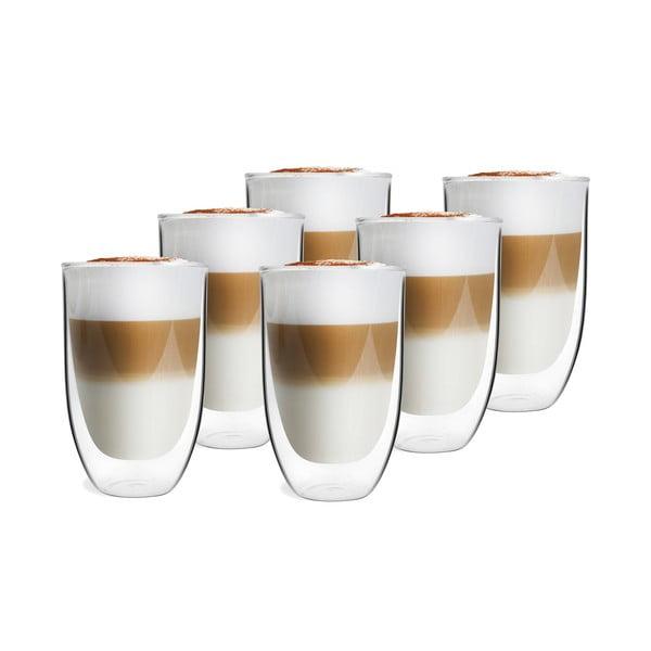 Sada 6 dvoustěnných sklenic Vialli Design NATALIE, 350 ml