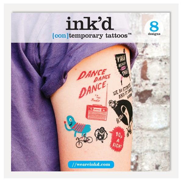Dočasné tetování U Studio Design Paul Bower