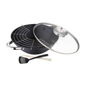 Set wok pánve a příslušenství Bergner Wasabi