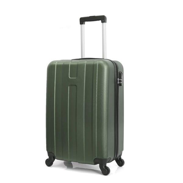 Sada 3 zelených cestovních kufrů na kolečkách Hero Atlanta