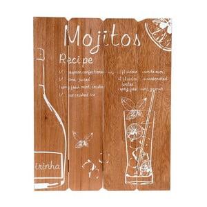 Nástěnná dekorace Mojito 39x50 cm