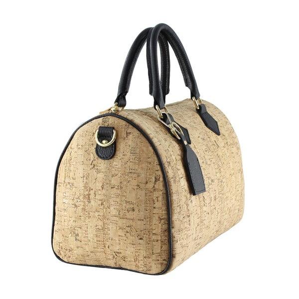 Černá kožená taška Tori