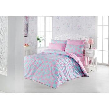 Lenjerie de pat cu cearșaf Sweet Dream Tonight, 200 x 220 cm imagine