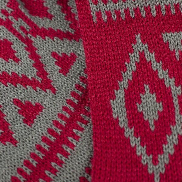 Fular circular Indian Red
