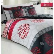 Lenjerie de pat cu cearșaf și 2 fețe de pernă Elmas, 200 x 220 cm