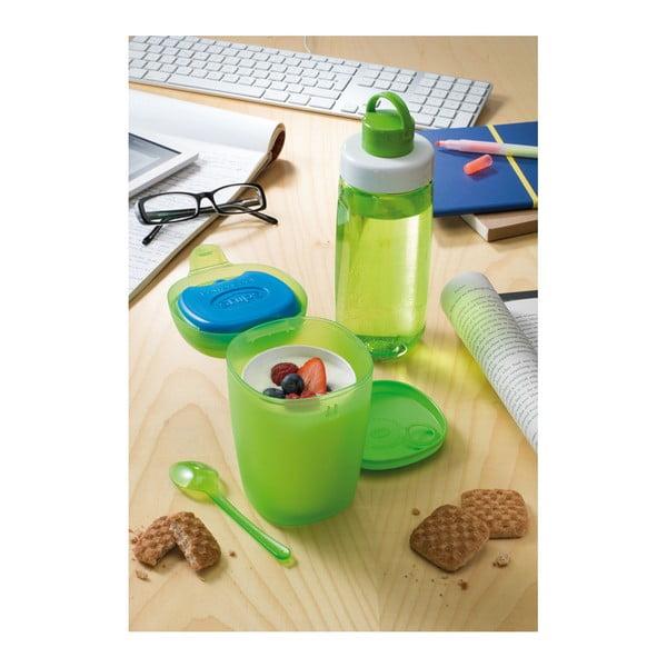 Komplet pojemnika na lunch z łyżką i butelki na wodę Snips Ice Box