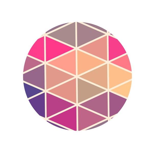 Sada 2 odkládacích stolků Triangle Puzzle, 35 cm + 49 cm