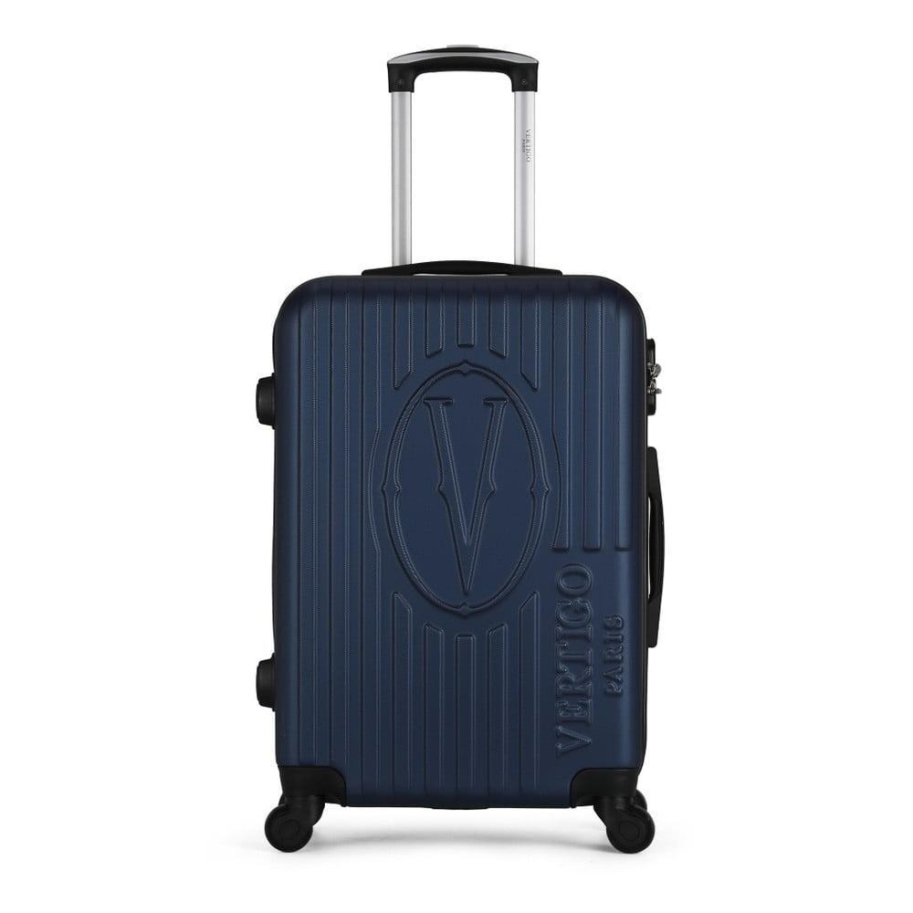 Tmavě modrý cestovní kufr na kolečkách VERTIGO Valise Grand Cadenas Integre Malo, 33 x 52 cm