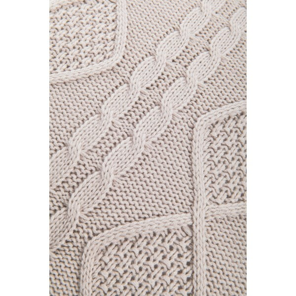 Pletený povlak na polštář Kosem Stone, 43x43 cm
