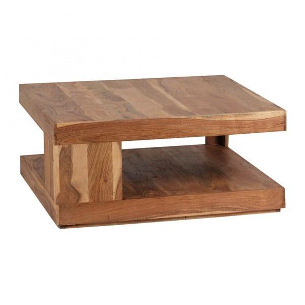 Stolik z litego drewna akacji Skyport Mara