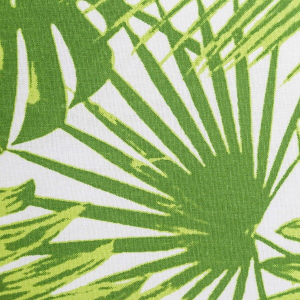 Zelený polštář s potiskem Tropicho, 60x40cm