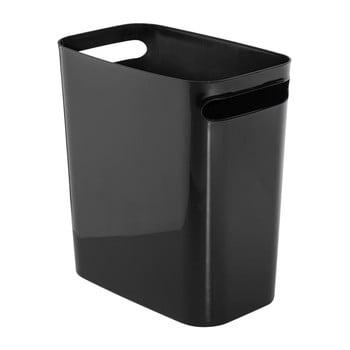 Coș de gunoi Ina Black, 28x16,5 cm imagine