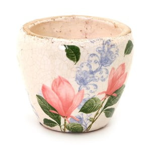 Keramický květináč SohoAndDeco Flor Rosa, ⌀14cm