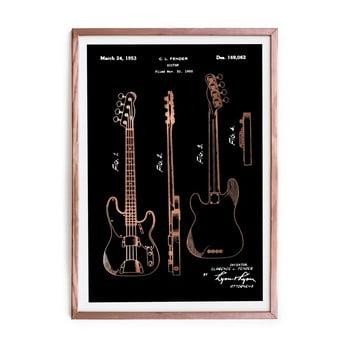 Tablou/poster înrămat Really Nice Things Fender Guitar, 40x60cm de la Really Nice Things