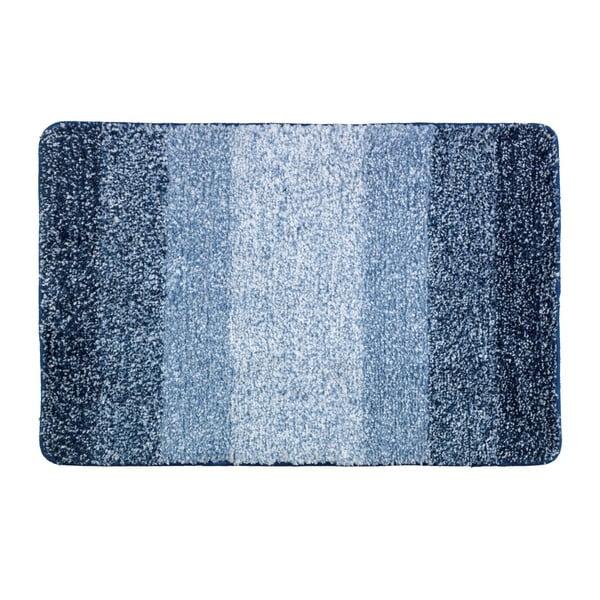 Modrá koupelnová předložka Wenko Luso, 60 x 90 cm
