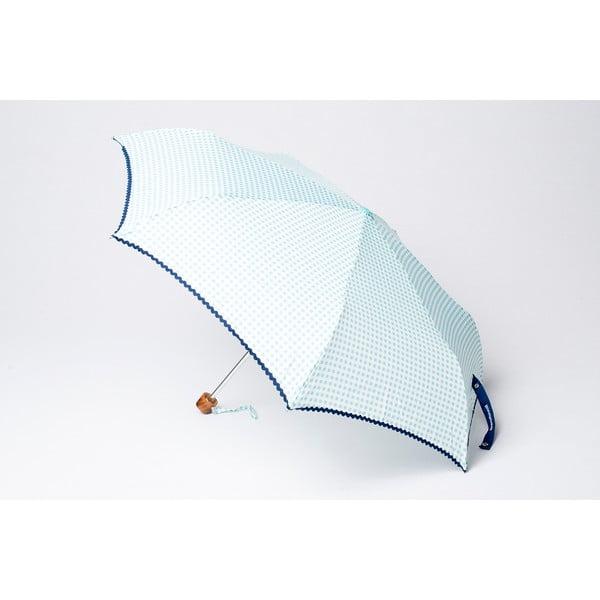 Skládací deštník Alvarez Vichy Blue Aqua